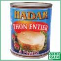 Hadar Thon à l'Huile 800gr kosher lepessah WOLFF ET BADATZ