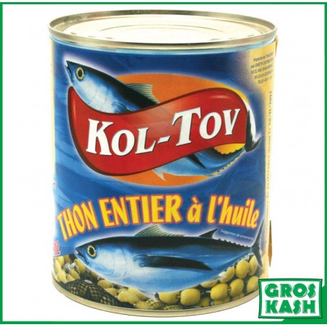 Kol-Tov Thon à l'Huile 800gr kosher lepessah WOLFF ET BADATZ
