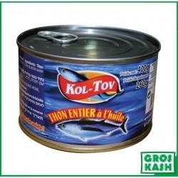 Kol-Tov Thon à l'Huile 400gr kosher lepessah WOLFF ET BADATZ