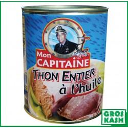 Mon Capitaine Thon à l'Huile 800gr kosher lepessah WOLFF ET BADATZ