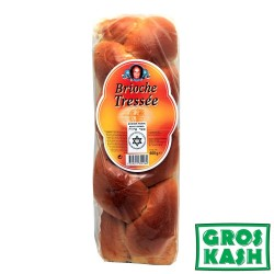 Brioches Tressées Nature 600 G kosher kasher Parve RABBI HOD
