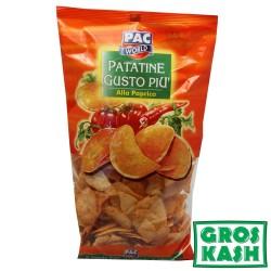Chips Aromatisée Paprika Pac World 200 G kosher lepessah