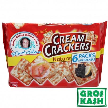 Cream Crackers Nature 336gr kosher