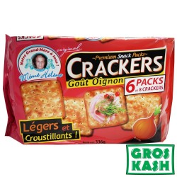 Cream Crackers Gout Oignon 336gr kosher