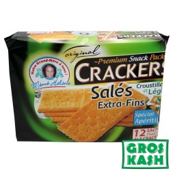 Cracker Croustillants salés 486gr kosher BADATZ IHOUD HARABANIM