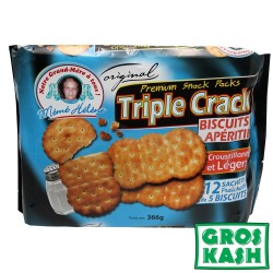 Triple Crack Biscuits sales 347gr kosher BADATZ IHOUD HARABANIM