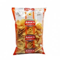 Chips Gaufres 200gr kosher lepessah AMICA CHIPS BADATZ IHOUD HARABANIM