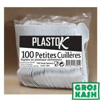 Petite Cuillere plastiques 100 pieces kosher lepessah
