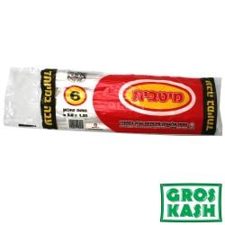 Nappes plastic extra 1,35m x 3m kosher lepessah