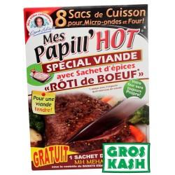 Papill'Hote Rôti de Boeuf +8 sac de cuisson kosher
