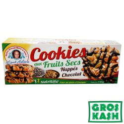 Cookies aux fruits secs 18x 145gr kosher IHOUD RABANIM