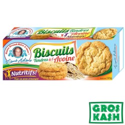 Biscuits Tendere a l'Avoine 18x 135gr kosher IHOUD  RABANIM