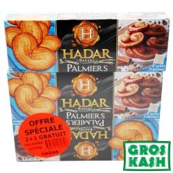 Lot de 3 Etuis Palmiers HADAR 300gr kosher IHOUD  RABANIM