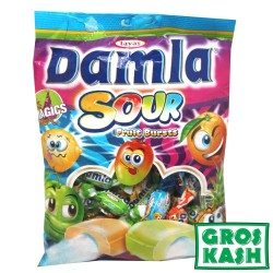 Damla sour acides fruit mixte 250gr kosher lepessah BADATZ BETH YOSSEF RHOD