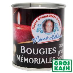 26h Bougies boite fer MEME HELENE kosher lepessah