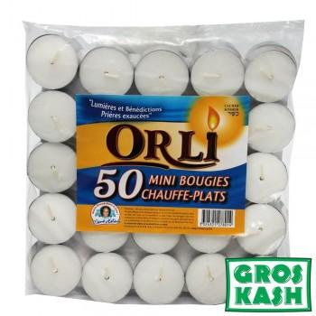 Chauffe Plat Orli x50 pieces kosher lepessah