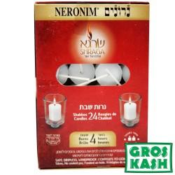 24 Neronim Shabath Badatz kosher lepessah