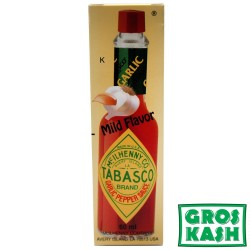 Tabasco Mild Flavor Ail Garlic 60ml kosher