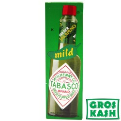 Tabasco Sauce Verte Poivrons Vert 60ml kosher
