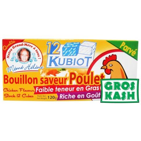 12 Bubiot Bouillon saveur Poulet parvé kosher IHOUD