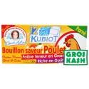12 Kubiot Bouillon saveur Poulet parvé kosher IHOUD