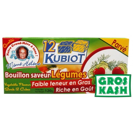 12 Bubiot Bouillon saveur Legume parvé kosher IHOUD