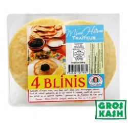 4 Blinis Large 200gr kosher