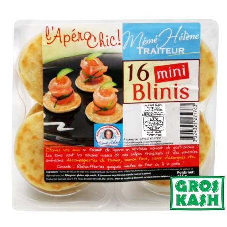 16 Blinis Mini 135gr kosher