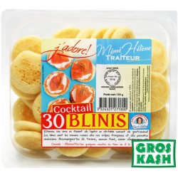 30 Blinis Cocktail 135gr kosher
