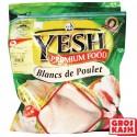 Blanc de poulet environ 1kg kasher lepessah YESH IQF Shritta Loubavitch