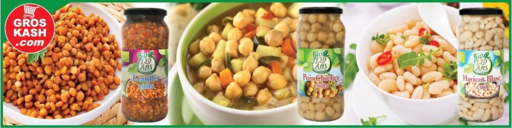 Boites de conserves de légumes cacher, livrées chez vous en 24-48h | Groskash