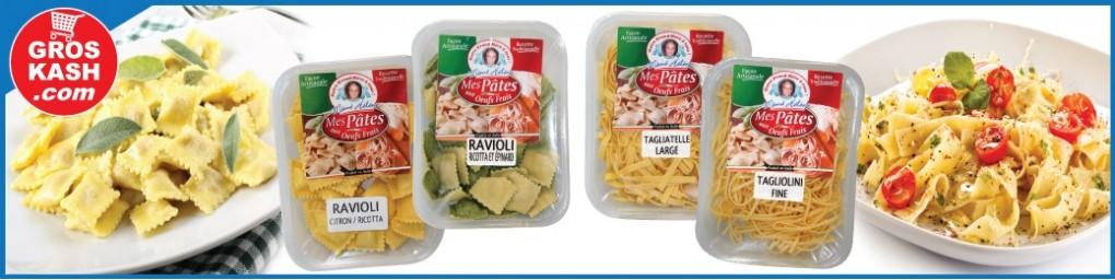 Raviolis et Pâtes fraiches cacher livrés chez vous | Groskash