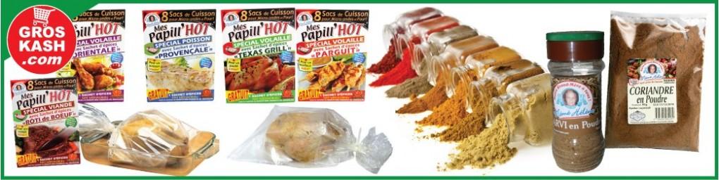 Epice & sac de cuisson casher, livrés chez vous en 24-48h | Groskash