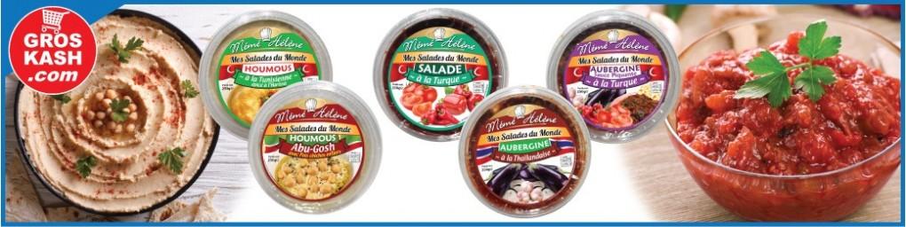 Vos salades traiteur cacher livrées chez vous   Groskash