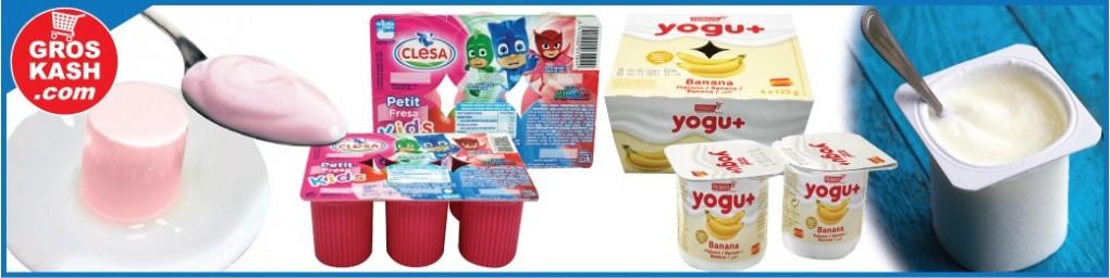 Yaourt et crème dessert cacher livré chez vous | Groskash