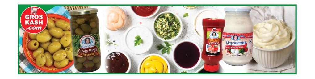 Sauces & Condiments cacher, livrés chez vous en 24-48h | Groskash