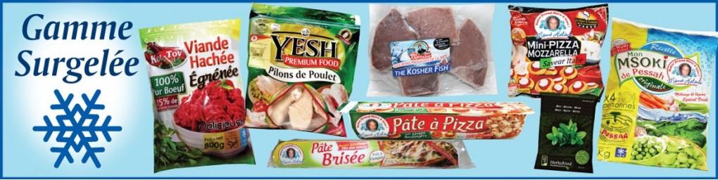 Surgelés cacher, Viandes, Volailles,Poisson,Légumes livrés chez vous | Groskash