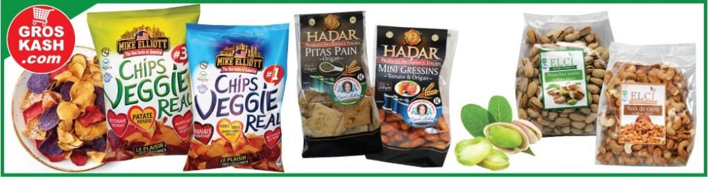 Apéritif & Snack cacher livré en 24-48h chez vous | Groskash